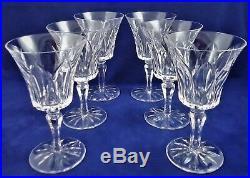Suite de 6 verres à eau cristal de SAINT LOUIS Camargue Réf A20/35