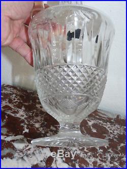 Superbe carafe en Cristal de Saint Louis modèle TOMMY 37 cm de haut