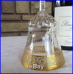 Thistle cristal Saint louis 2 verres à vin rouge Bourgogne n°3 H16,2cm