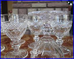 Trianon verres à vin rouge, Saint louis cristal N°3