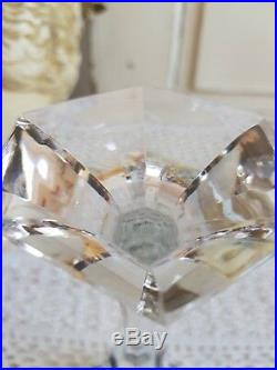 VERRE A VIN DU RHIN ROEMER CRISTAL SIGNE SAINT LOUIS MODELE CHAMBORD(rose)