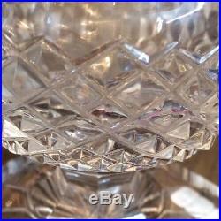 Vase Medicis en cristal Non Signé Style Saint Louis modéle Versailles, XIXéme