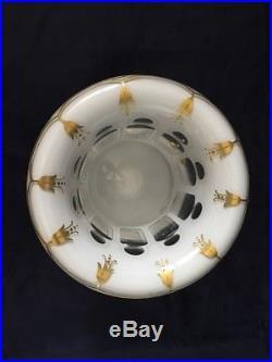 Vase Médicis en cristal doublé Saint Louis / Antique overlay crystal vase