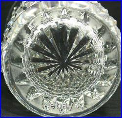 Vase Saint Louis modèle Tommy, 23 cm, cristal, excellent état, signé