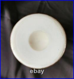 Vase ballustre opaline Saint-Louis ou Baccarat XIXème Napoleon IlI Chinois