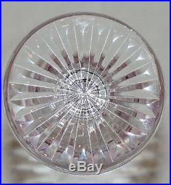 Verre A Eau En Cristal De St Louis Tommy Estampille Couleur Amethyste 19.8 CM