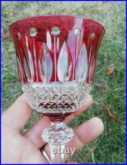 Verre Roemer Cristal Saint Louis Tommy Couleur Rouge