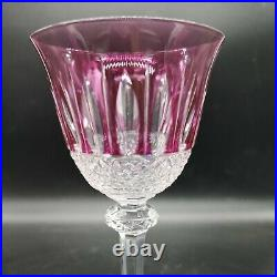Verre eau ou vin cristal de couleur Saint Louis roemer modèle Tommy 19,8 cm a5
