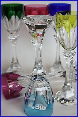 rare et sublime coupe saladier centre de table en cristal de saint louis tommy verres cristal. Black Bedroom Furniture Sets. Home Design Ideas