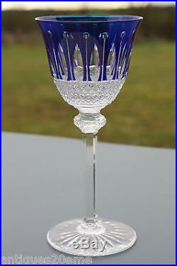 verre vin du rhin cristal taill saint louis tommy roemer 19 8 cm bleu verres cristal st louis. Black Bedroom Furniture Sets. Home Design Ideas