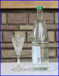 Verres à vin cristal Saint louis, modèle Niepce